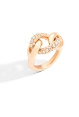POMELLATO Catene Tango Ring with Diamonds