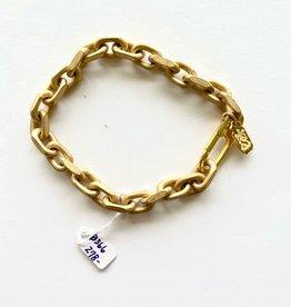 SENNOD Heavy Italian Matte Oval Bracelet