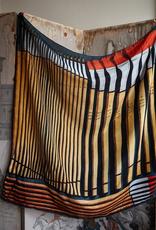 JOHN DERIAN Brosses en Maitre 81 Silk Scarf