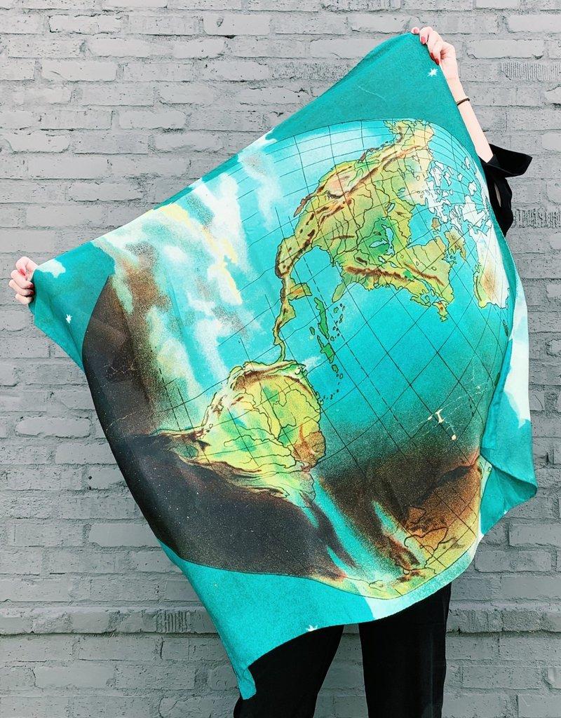JOHN DERIAN World Silk Scarf
