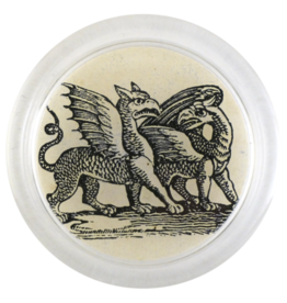 "JOHN DERIAN Iconic - Dragons 4"" Coaster"