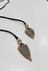 S CARTER Arrowhead Wrap Necklace