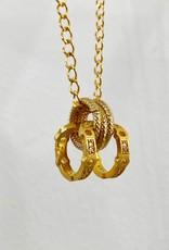 SENNOD Remy Diamond Hoop Necklace