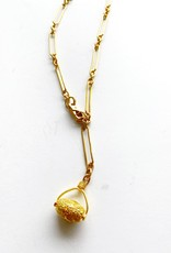 """SENNOD Valens Chain with Oval Pebble 20"""" Necklace"""