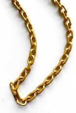 "SENNOD Matte Italian Chainlink 18"" Necklace"