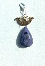 SENNOD Purple Teardrop on Gold Viking Vignette