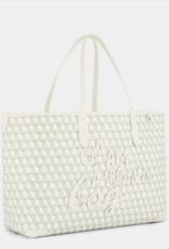 ANYA HINDMARCH I am a Plastic Bag - Small Tote - Chalk