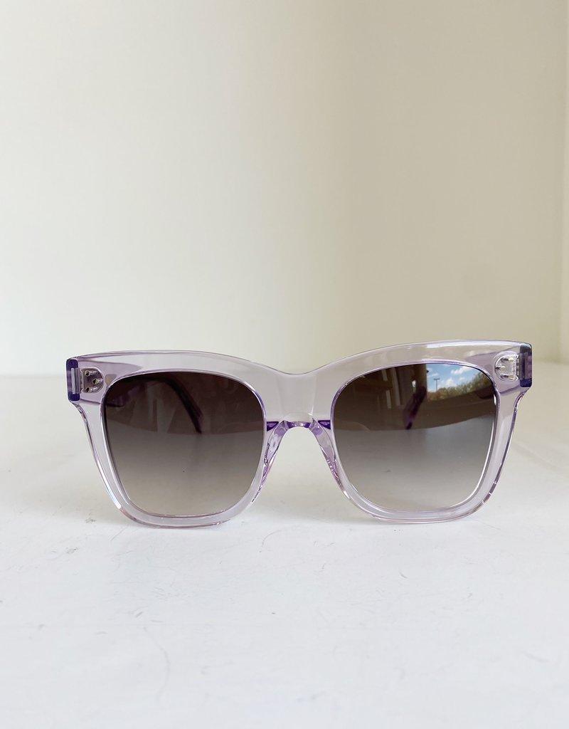 CL40183F - Translucent Lavender Square