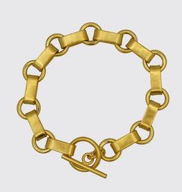 JANE DIAZ Victorian Circle Link Bracelet