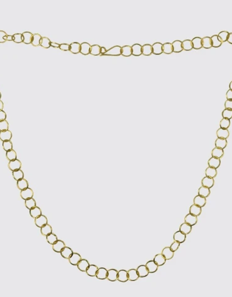 "JANE DIAZ 22"" Circle Link Chain Necklace"