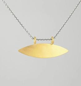 JANE DIAZ Radiant Eye Amulet Necklace