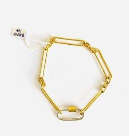SENNOD Valens Bracelet with 2-Tone Carabiner