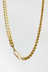 """SENNOD Curb Chain 16"""" Necklace"""
