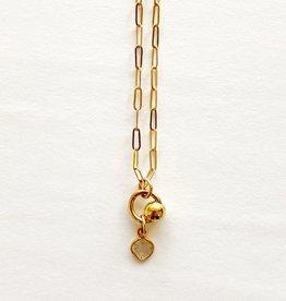 "SENNOD Diamond Slice 16"" Necklace"