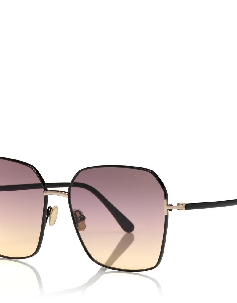 TOM FORD Claudia - Black with Gradient Lens
