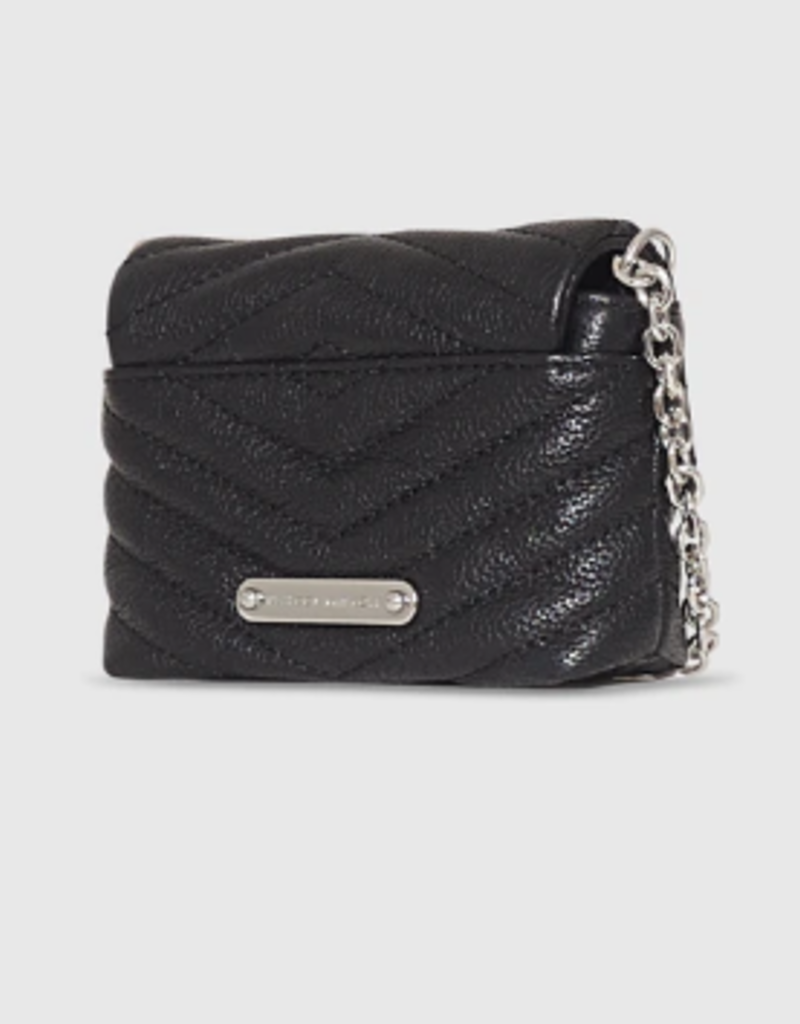 REBECCA MINKOFF Edie Quilted Micro Crossbody