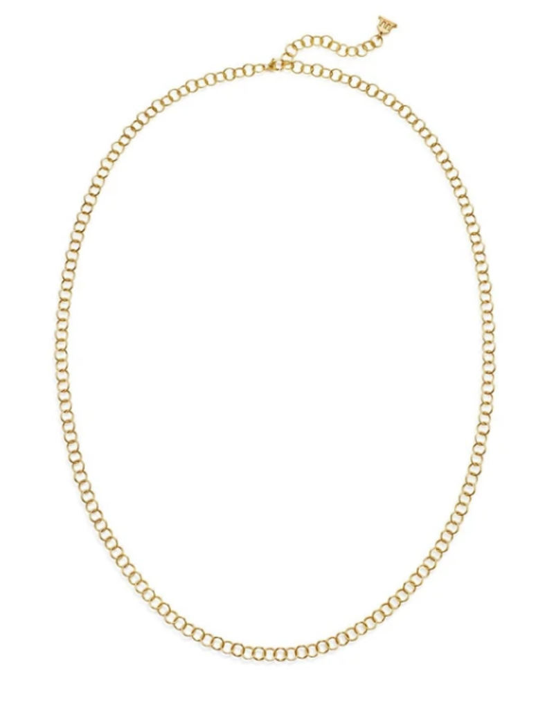 """TEMPLE ST CLAIR 18K 24"""" Classic Round Chain Necklace"""