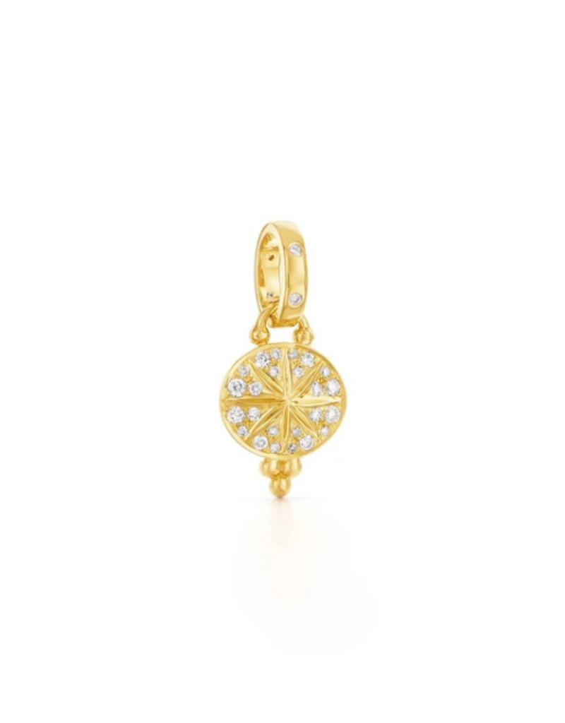 TEMPLE ST CLAIR 18K Diamond Mini Sorcerer Pendant