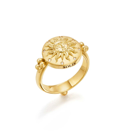 TEMPLE ST CLAIR 18K Sole Ring - Size 6.5