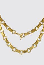 JANE DIAZ Victorian Heavy Chain Necklace