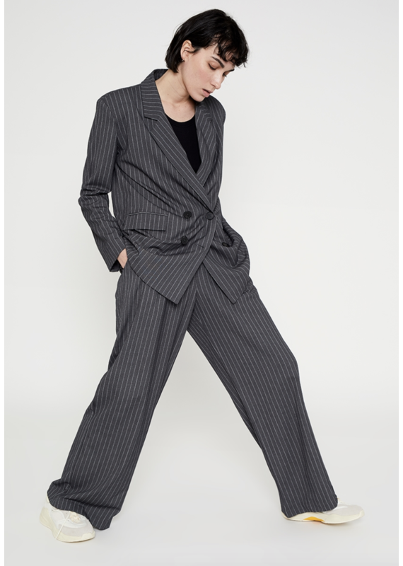 Wild Pony High Waist Darted Suit Trouser