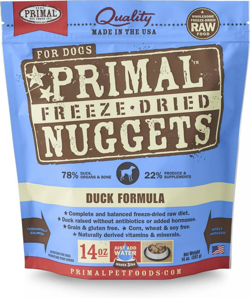Freeze Dried Duck 14oz.
