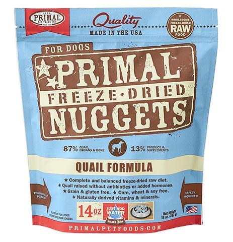Freeze Dried Quail 5.5oz.