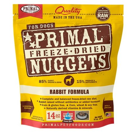 Freeze Dried Rabbit 14oz.