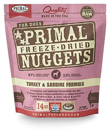 Freeze Dried Turkey/Sardine 14oz.