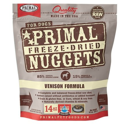 Freeze Dried Venison 5.5oz.