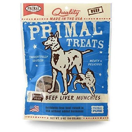 Beef Liver Munchies 2oz.