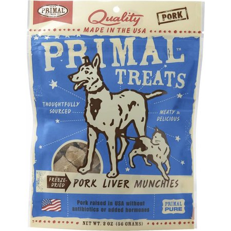 Pork Liver Munchies 2oz.