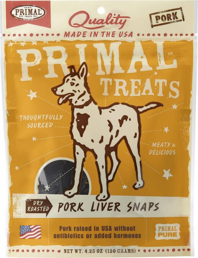 Pork Liver Snaps 4.25oz.
