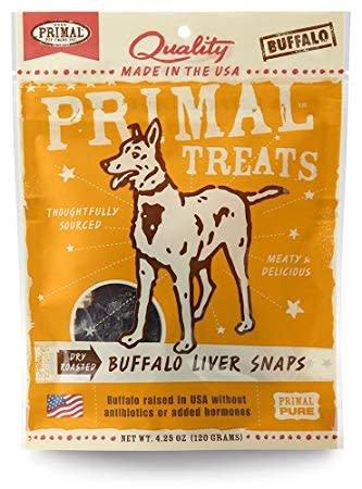 Buffalo Liver Snaps 4.25oz.
