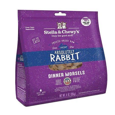 Cat Freeze Dried Rabbit Dinner Morsels 3.5oz.