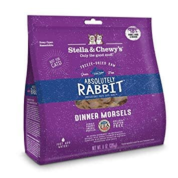 Cat Freeze Dried Rabbit Dinner Morsels 9oz.