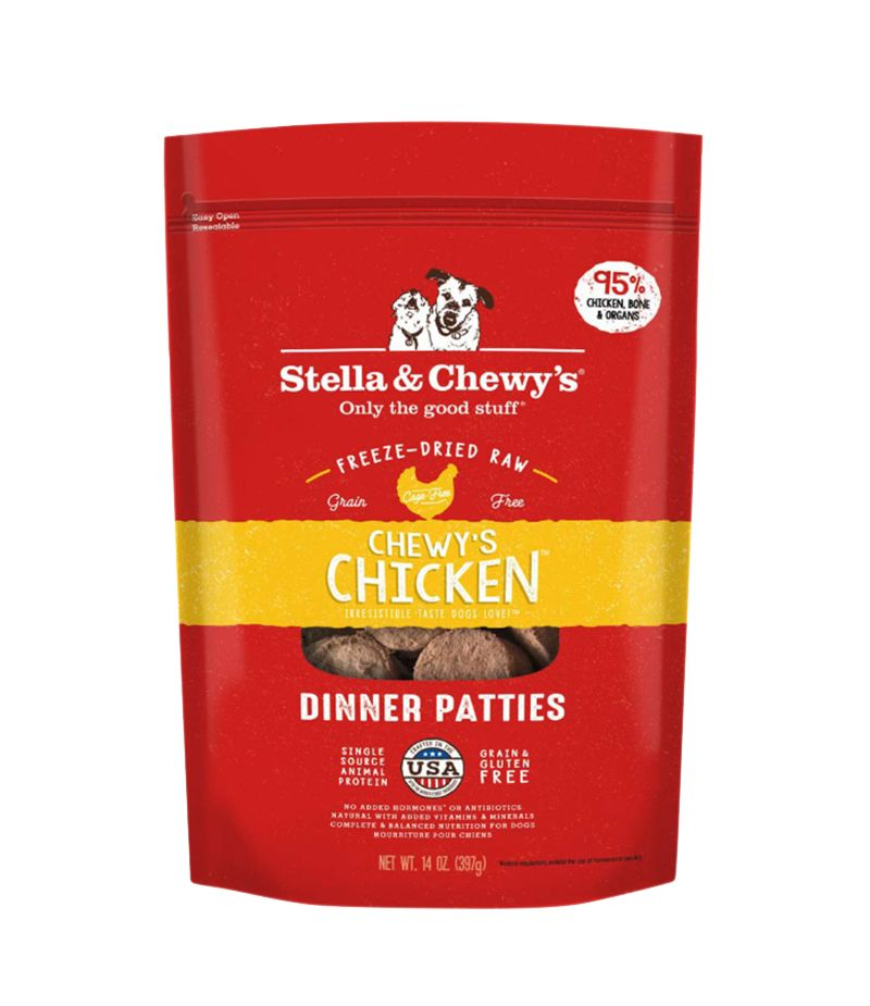 Freeze Dried Chicken Dinner Patties 14oz.