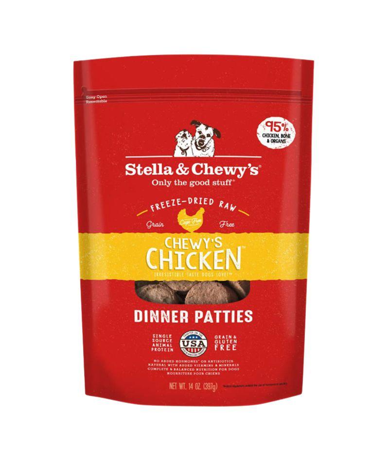 Freeze Dried Chicken Dinner Patties 25oz.