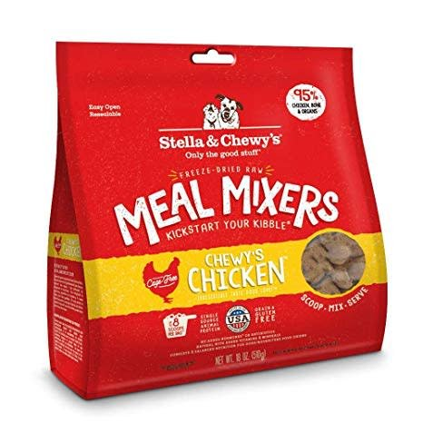 Freeze Dried Chicken Meal Mixers 8oz.