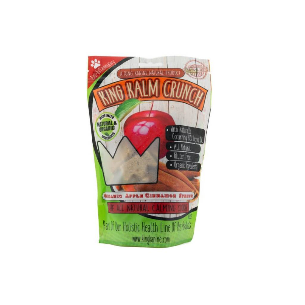 King Kalm Crunch Apple Cinnamon 8oz.