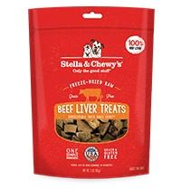 Freeze Dried Beef Liver Treats 3oz.