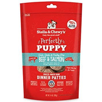 Freeze Dried Puppy Beef/Salmon Dinner Patties 14oz.