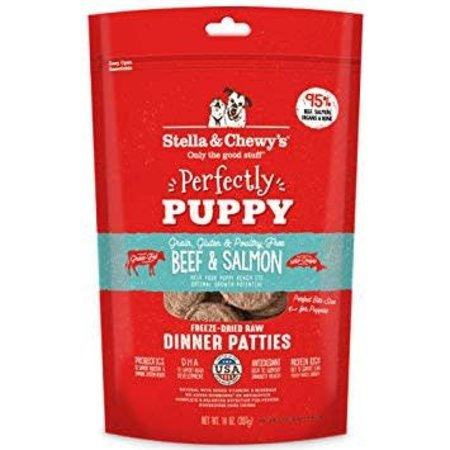 Freeze Dried Puppy Beef/Salmon Dinner Patties 5.5oz.