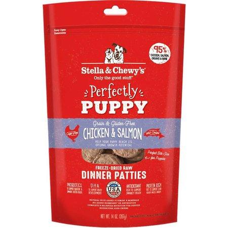 Freeze Dried Puppy Chicken/Salmon Dinner Patties 5.5oz.