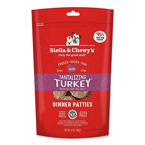 Freeze Dried Turkey Dinner Patties 5.5oz.