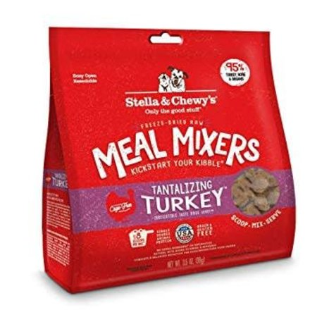 Freeze Dried Turkey Meal Mixers 3.5oz.