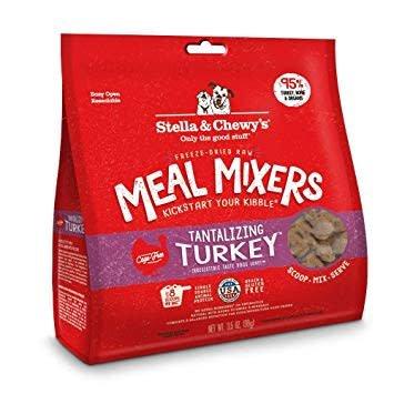 Freeze Dried Turkey Meal Mixers 3.5oz.
