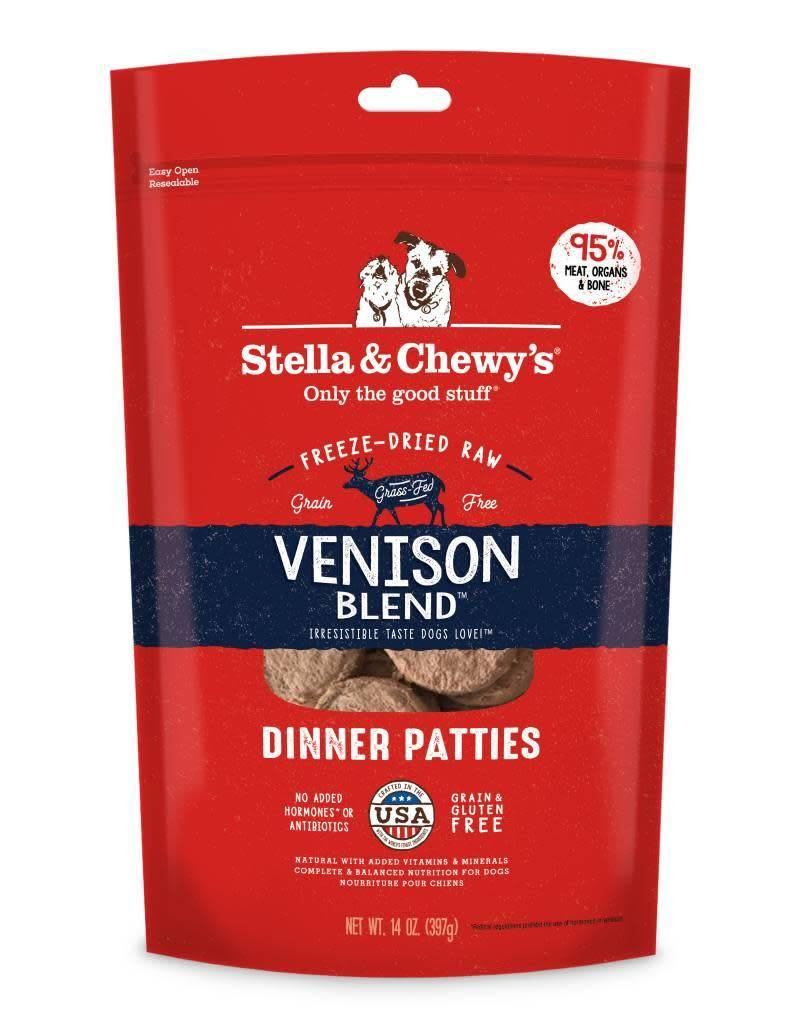 Freeze Dried Venison Dinner Patties 14oz.