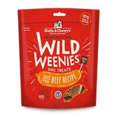 Freeze Dried Wild Weenies Beef 3.25oz.