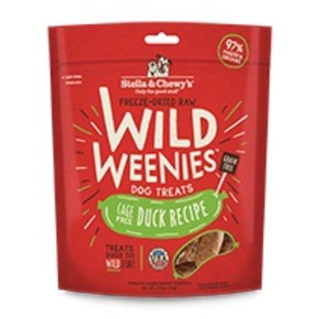 Freeze Dried Wild Weenies Duck 3.25oz.